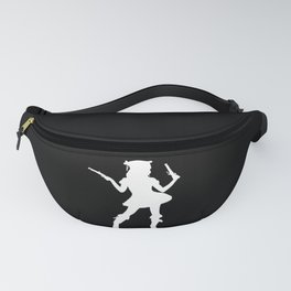 Pirate Bride Skull Corsair Captain Outfit Fanny Pack