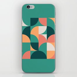 Mid Century Geometric 20 iPhone Skin