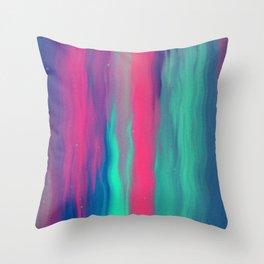 Neon Dream I Throw Pillow