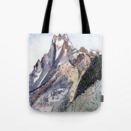 Machhapuchhre Mountain Tote Bag