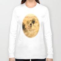 return Long Sleeve T-shirts featuring Return Home by Vargamari
