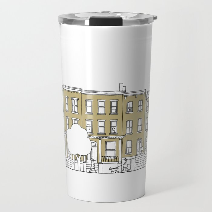 Brooklyn (color) Travel Mug