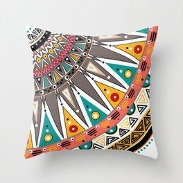 #Ethnic #tribal ornament Throw Pillow