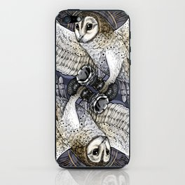 Owl Deck: King of Hearts iPhone Skin
