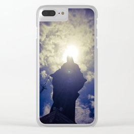 Holy May Clear iPhone Case