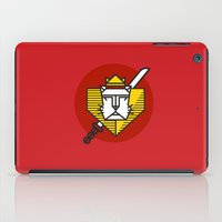 gryffindor iPad Cases featuring Gryffindor House Crest Icon by Manuja Waldia