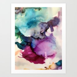 World's Colliding Art Print