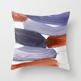 abstract painting XV Throw Pillow