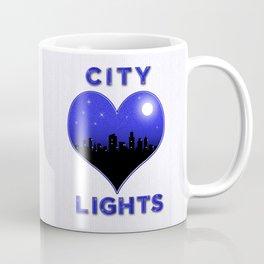 I Love City Lights Coffee Mug