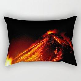 Volcan De Fuego - 4 Rectangular Pillow
