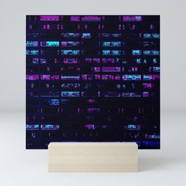 Cyberpunk Apartments Mini Art Print