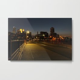 Minneapolis I Metal Print
