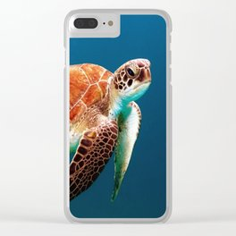 Turtley Clear iPhone Case