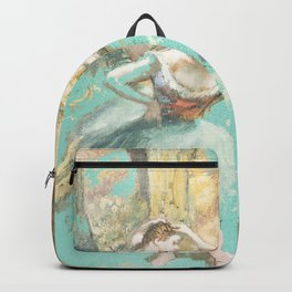 DEGAS DANCERS GOLD AND MINT Backpack