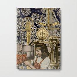 Artist Trading Card 018 Metal Print
