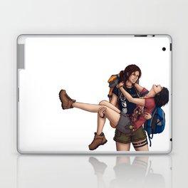 Lara and Sam's Adventures Laptop & iPad Skin