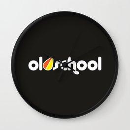 OLDSCHOOL v4 HQvector Wall Clock
