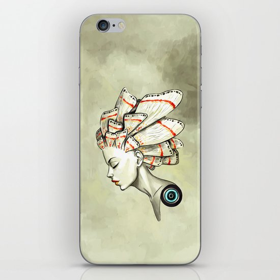 Moth 2 iPhone & iPod Skin
