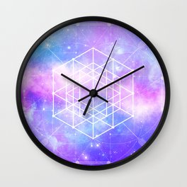 Sacred Geometry (Universal Consciousness) Wall Clock