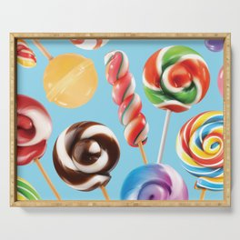Lollipop Explosion Serving Tray