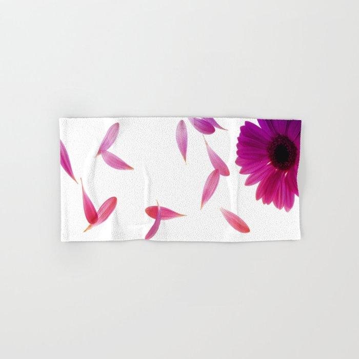 purple petaled flower  Hand & Bath Towel