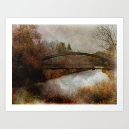 An Autumn Day Art Print