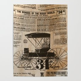 Old Vintage Advertising Part 3 Poster