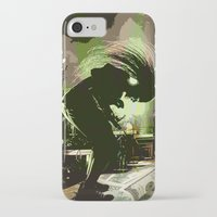 rock n roll iPhone & iPod Cases featuring Rock N Roll by DTGTEEZ
