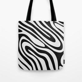Black & White Minimal II Tote Bag