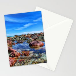 Red Rocks, Wellington, New Zealand Stationery Cards