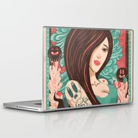 party Laptop & iPad Skins featuring Party by Victor Beuren
