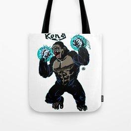 Electric Kong Print FC Tote Bag