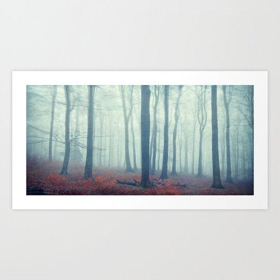 mute forest Art Print