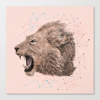 leo Canvas Prints featuring Leo by dogooder