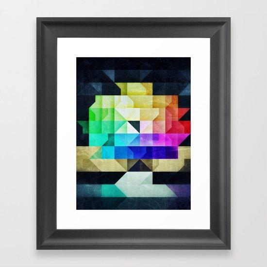 SPYKTRYM Framed Art Print
