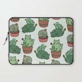 Cacti Cat pattern Laptop Sleeve