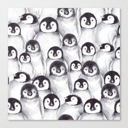 Penguin pattern Canvas Print