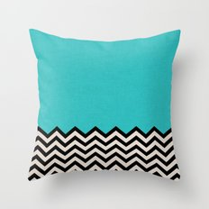Follow the Sky Throw Pillow