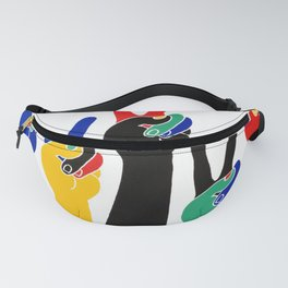 affiche barcelona 92 olympic games Fanny Pack