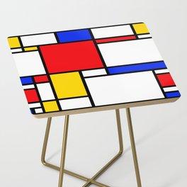 Piet Pattern Side Table