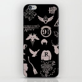 potter's head iPhone Skin