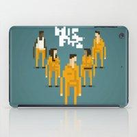 misfits iPad Cases featuring Pixel Art Misfits by LoweakGraph
