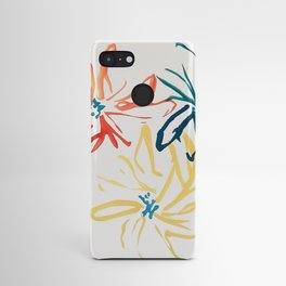 Gestural Blooms Android Case