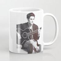 darren criss Mugs featuring Darren Criss by kltj11