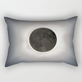 Total Eclipse by  OLena Art Rectangular Pillow