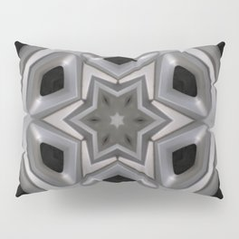 Abstract kaleidoscope of a wheel cover Pillow Sham