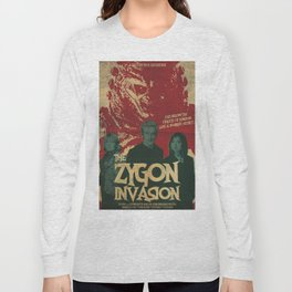 "Doctor Who ""The Zygon Invasion"" Long Sleeve T-shirt"