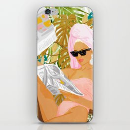 Vacay News #illustration #painting iPhone Skin
