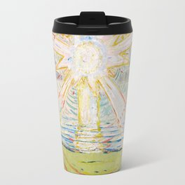 "Edvard Munch ""The Sun"", 1910–11 Travel Mug"