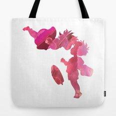Ponyo and Sosuke in Pink Tote Bag